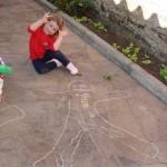 Nathalia e sua boneca